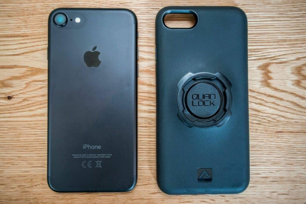 QuadLock Handyhalter iPhone Hülle