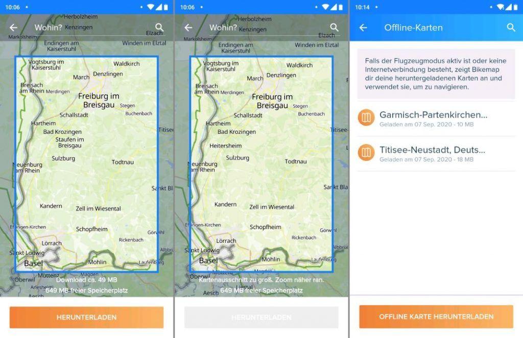 Bikemap Test Erfahrungen Karten Download