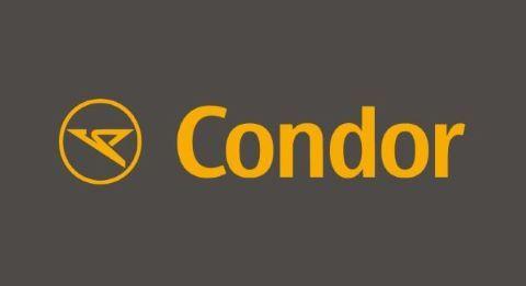 Condor Logo Fahrrad im Flugzeug mitnehmen