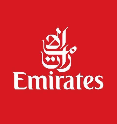 Emirates Logo Fahrradmitnahme Flugzeug