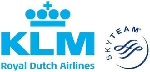 KLM Royal Dutch Airlines Logo Fahrradtransport Flugzeug
