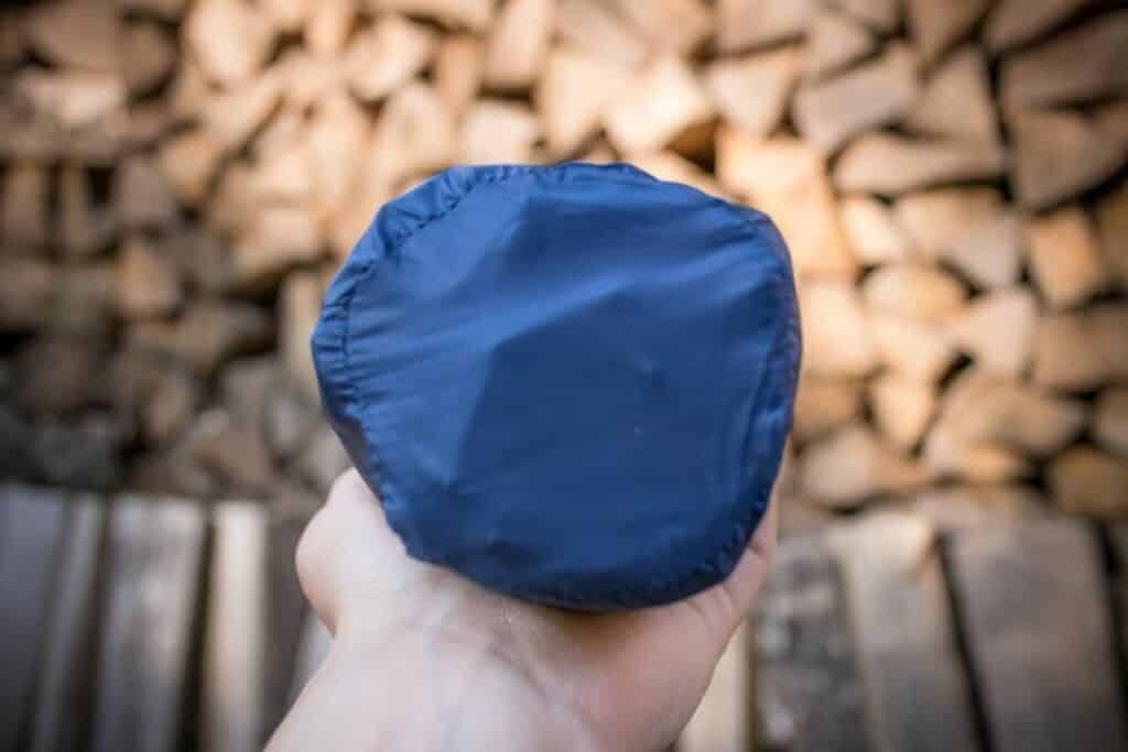 Kompakte Isomatte kleines Packmaß Test Bahidora Erfahrungen