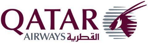 Qatar Airways Logo Fahrrad im Flugzeug mitnehmen