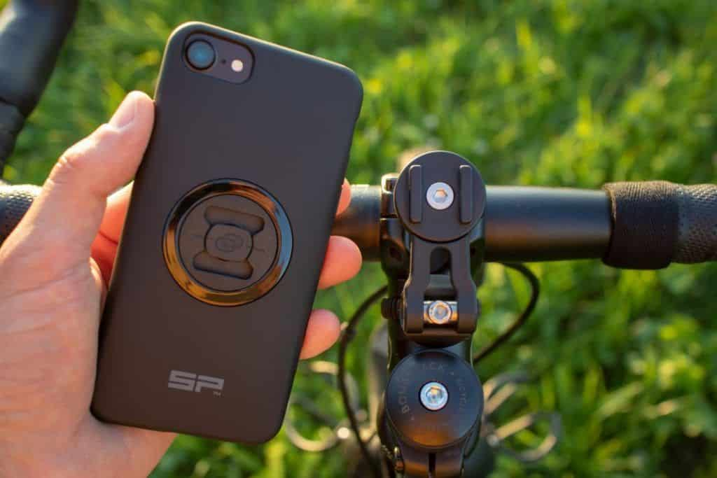 SP Connect Bike Bundle Test Bike Mobile Phone Mount Assembly