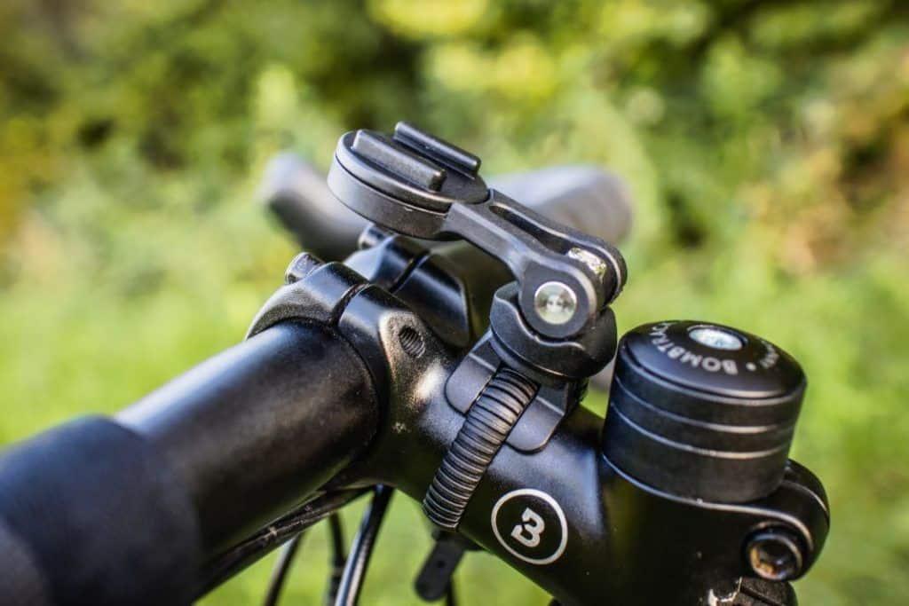 SP Connect Bike Bundle Test Fahrrad Handyhalterung Vorbau