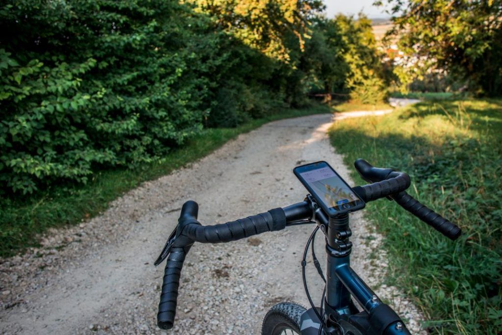 SP Connect Bike Mount Pro Mobile Phone Mount Ahead Stem Gravel