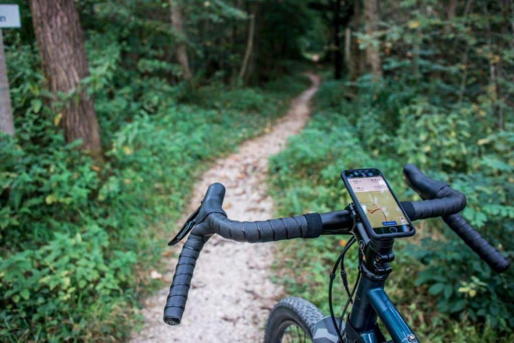 SP Connect Bike Mount Pro Mobile Phone Holder Ahead Stem Trail