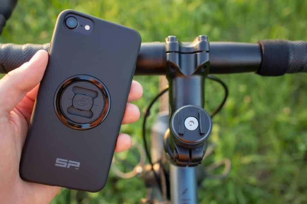 SP Connect Erfahrungen Fahrrad Micro Stem Mount Montage am Ahead Steuersatz