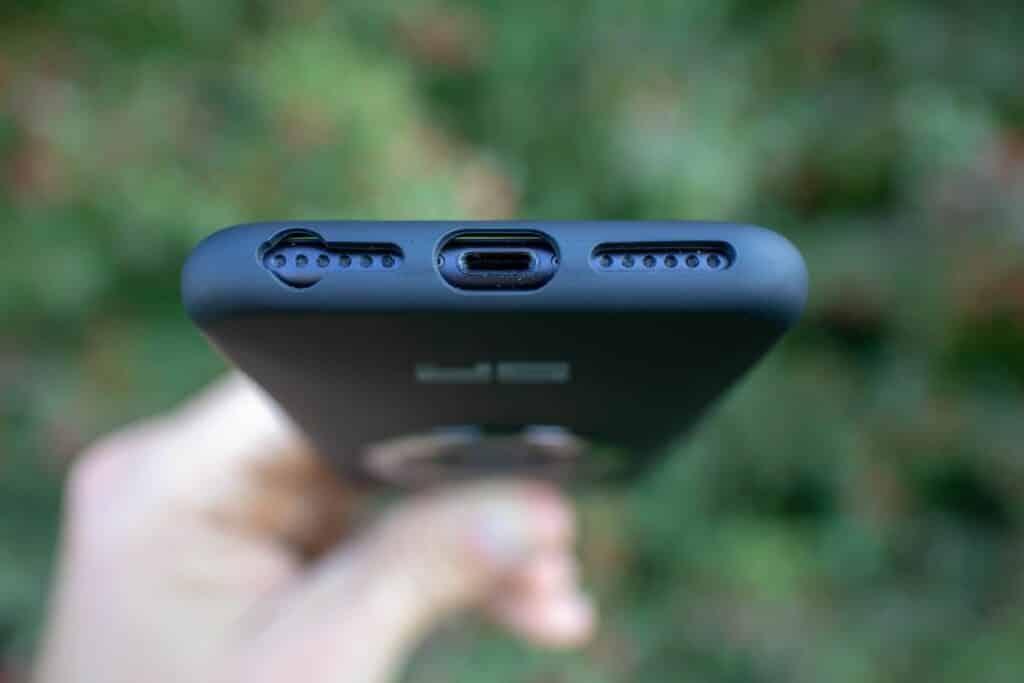 SP Connect Handyhalter Fahrrad Case freie Anschlüsse iPhone