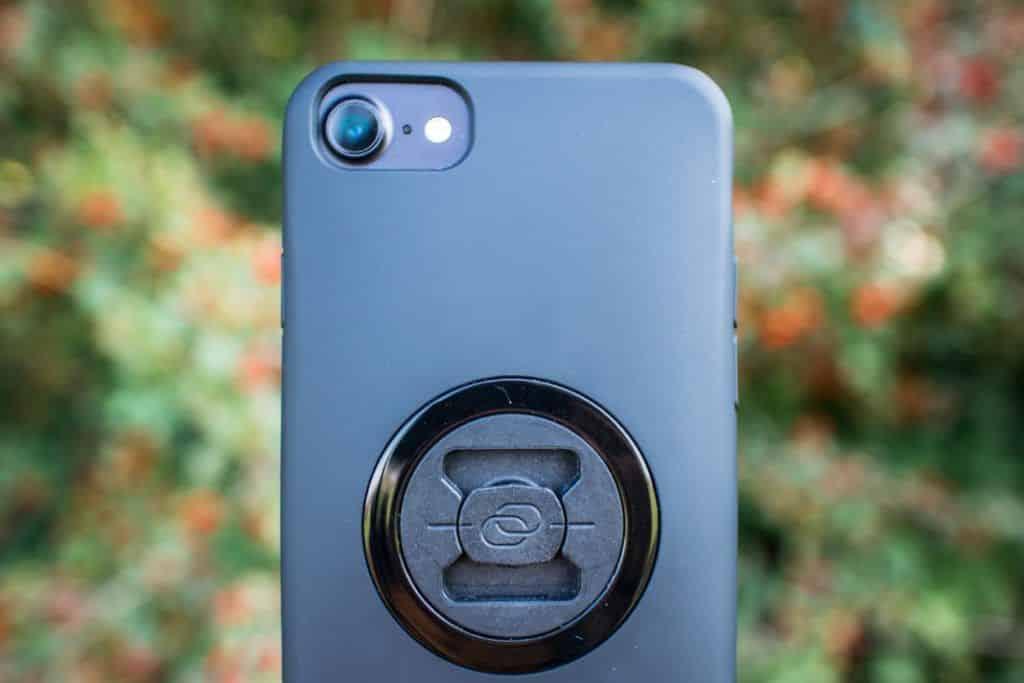 SP Connect Handyhalter Fahrrad Case iPhone Kamera