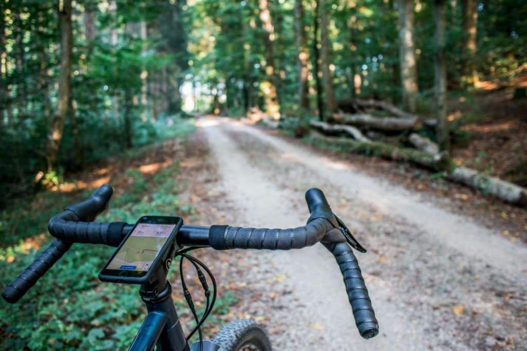 SP Connect Micro Stem Mount Alu Mobile Phone Mount Ahead Forest