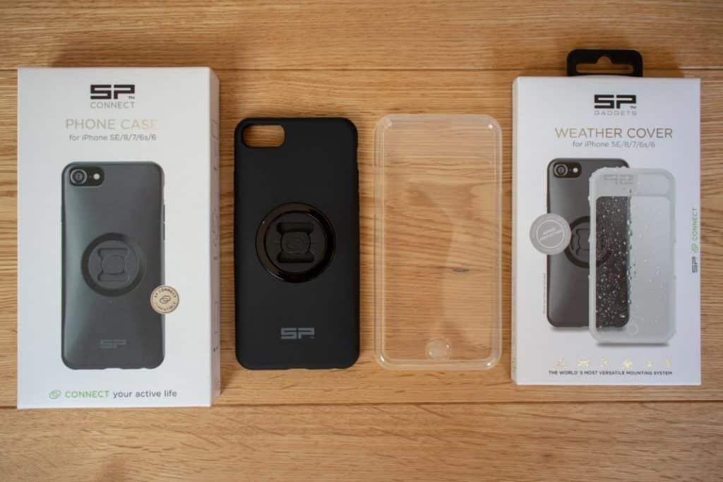 SP Connect Smartphone Handlebar Mount iPhone Case and Cover