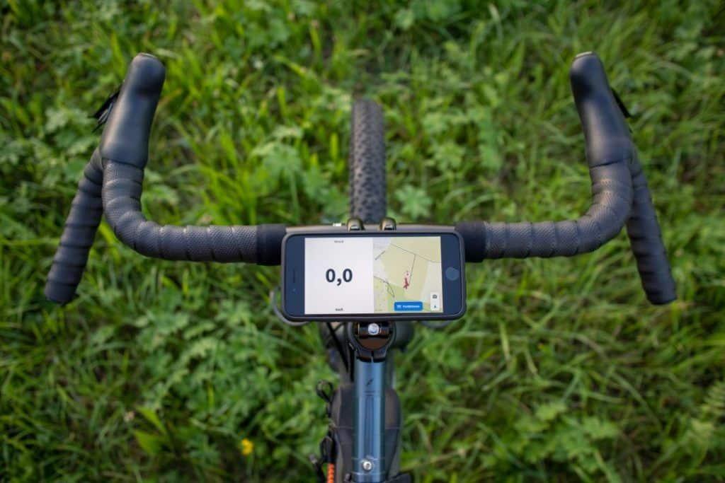 SP Connect Stem Mount Pro Mobile Phone Holder Experience Landscape