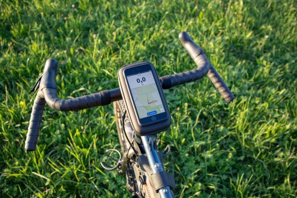 SP Connect iPhone Wedge Case Vorbau Halterung Fahrrad