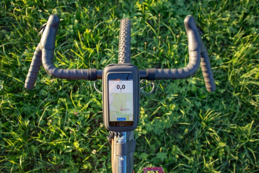 SP Connect iPhone Wedge Case Vorbau Halterung Fahrrad oben