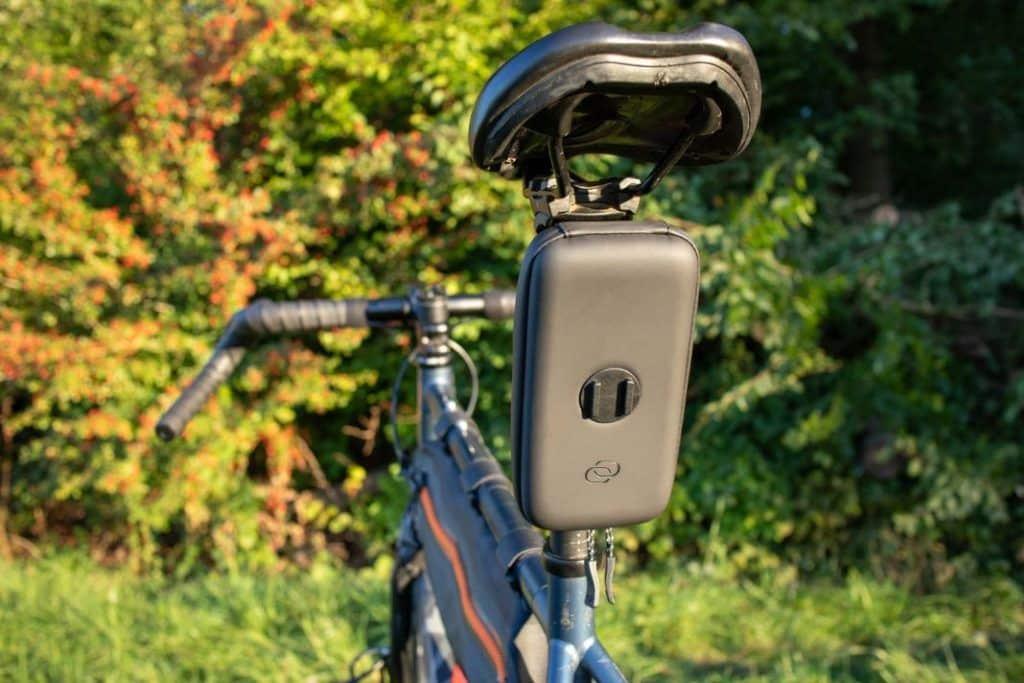 SP Fahrradhalterung Wedge Case an Sattelrohr