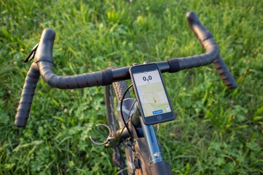 SP Mobile Phone Holder Bike Micro Stem Mount Portrait