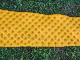 Sea to Summit Ultralight Mat Isomatte Test Title