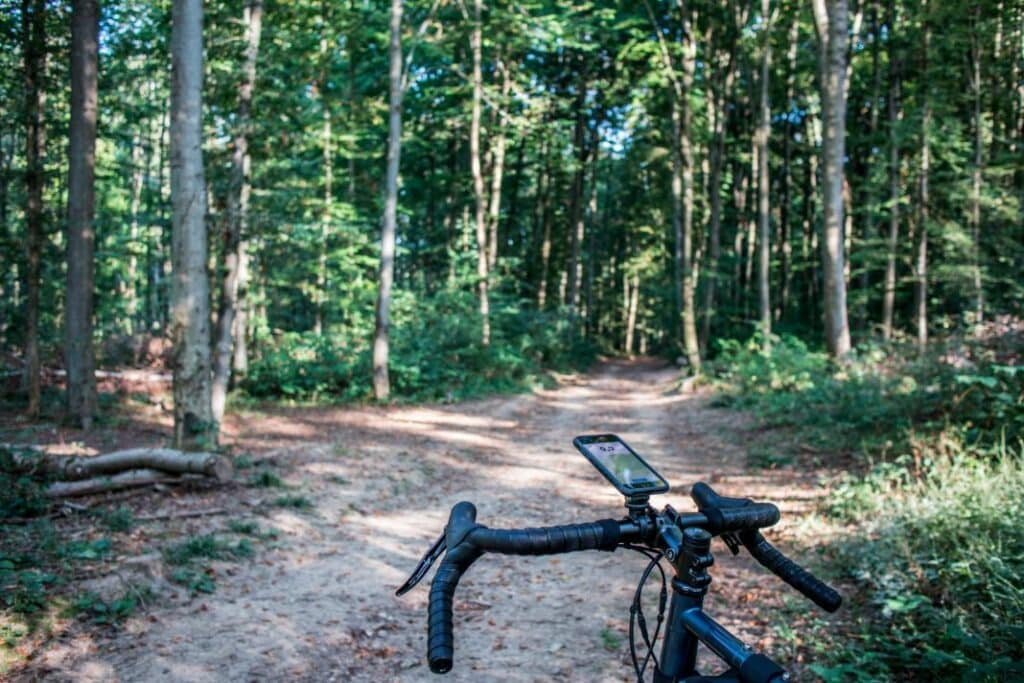 Topeak Ridecase Erfahrungen iPhone Handy Fahrradhalterung Lenker Action