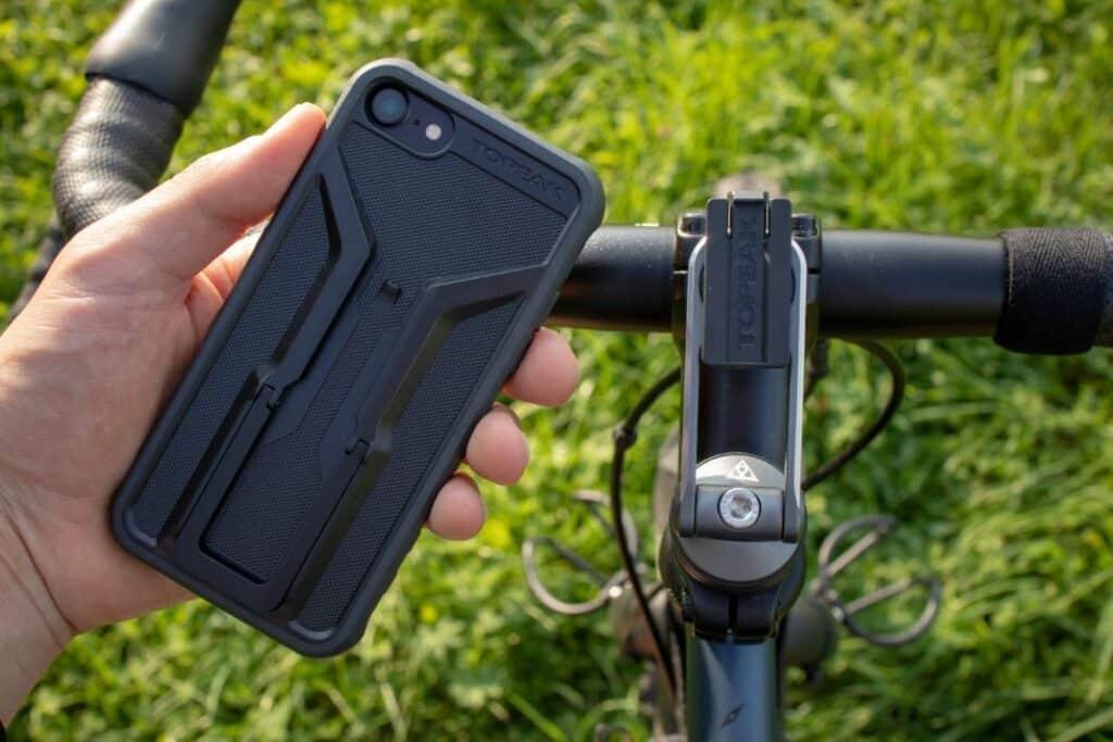 Topeak Ridecase Fahrradhalterung Test Ahead Halter und Hülle