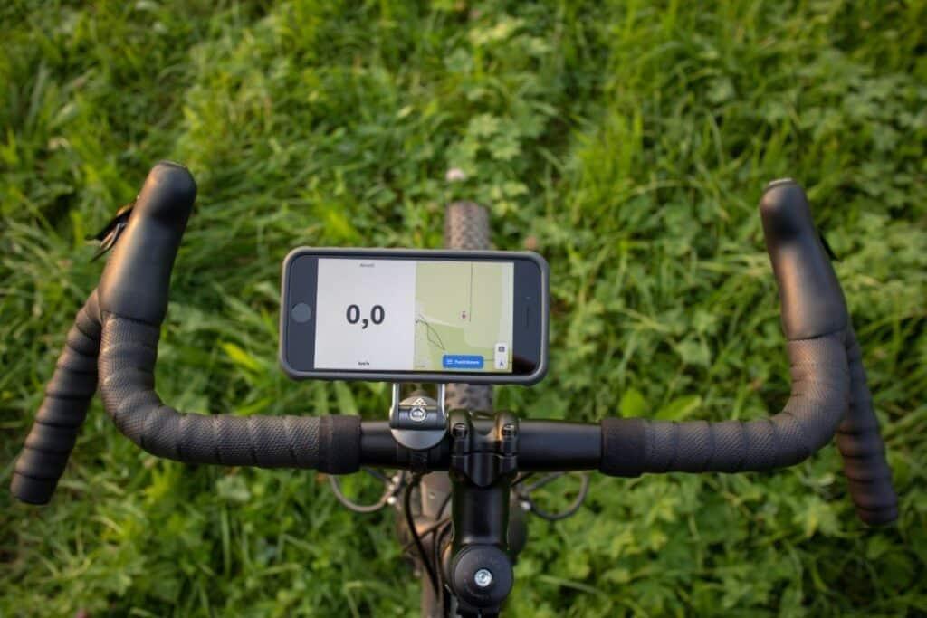 Topeak Ridecase Lenkerhalter iPhone Querformat rechts