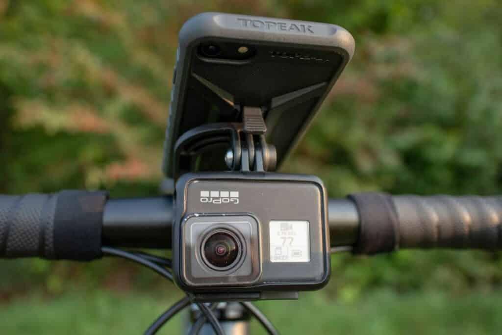 Topeak Ridecase Panocomputer GoPro Mount