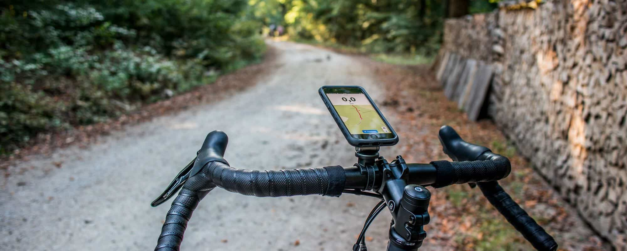 Topeak Ridecase in practice - reliable mobile phone bike mount for the iPhone