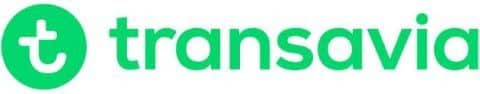 Transavia Logo Fahrradtransport Flugzeug