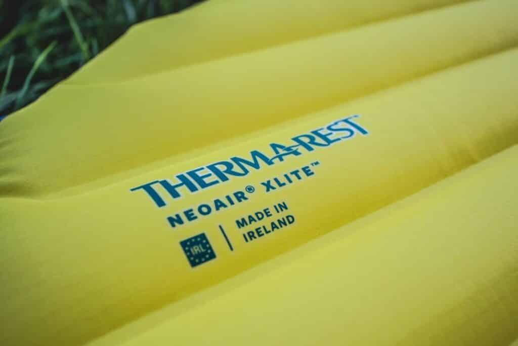 Trekking Isomatte Test Therm-a-Rest NeoAir Xlite Logo