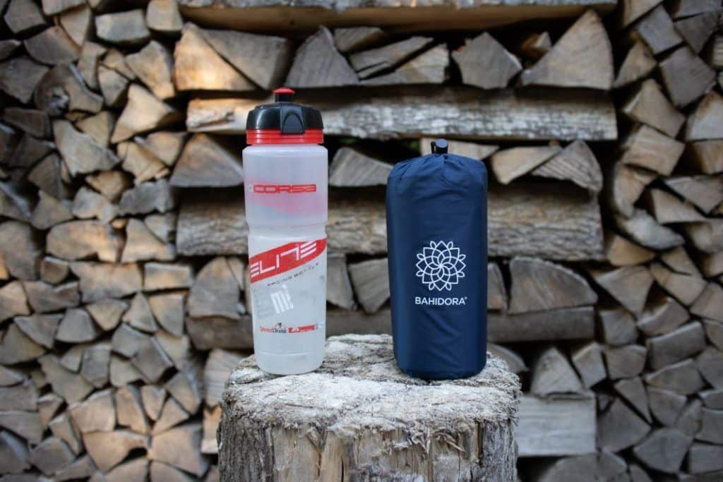 Ultraleicht Isomatte kleines Packmaß Vergleich mit Flasche Bahidora Erfahrungen