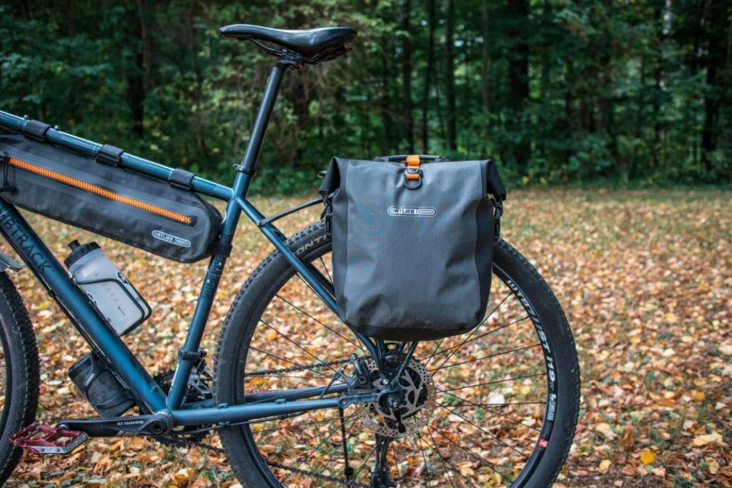 Ortlieb Gravel Pack Experiences Lowrider bike bags front and rear