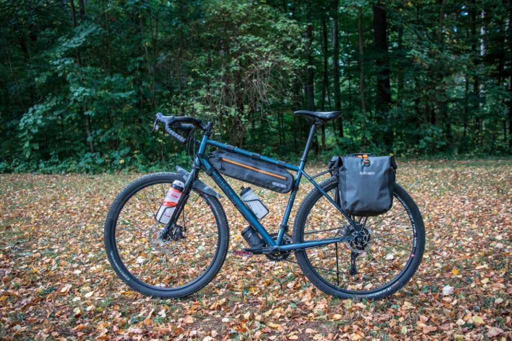 Ortlieb Gravel Pack Test Lowrider bike bags front and rear luggage carrier