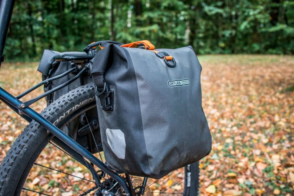 Ortlieb Gravel Pack Test small bike bags for front and rear