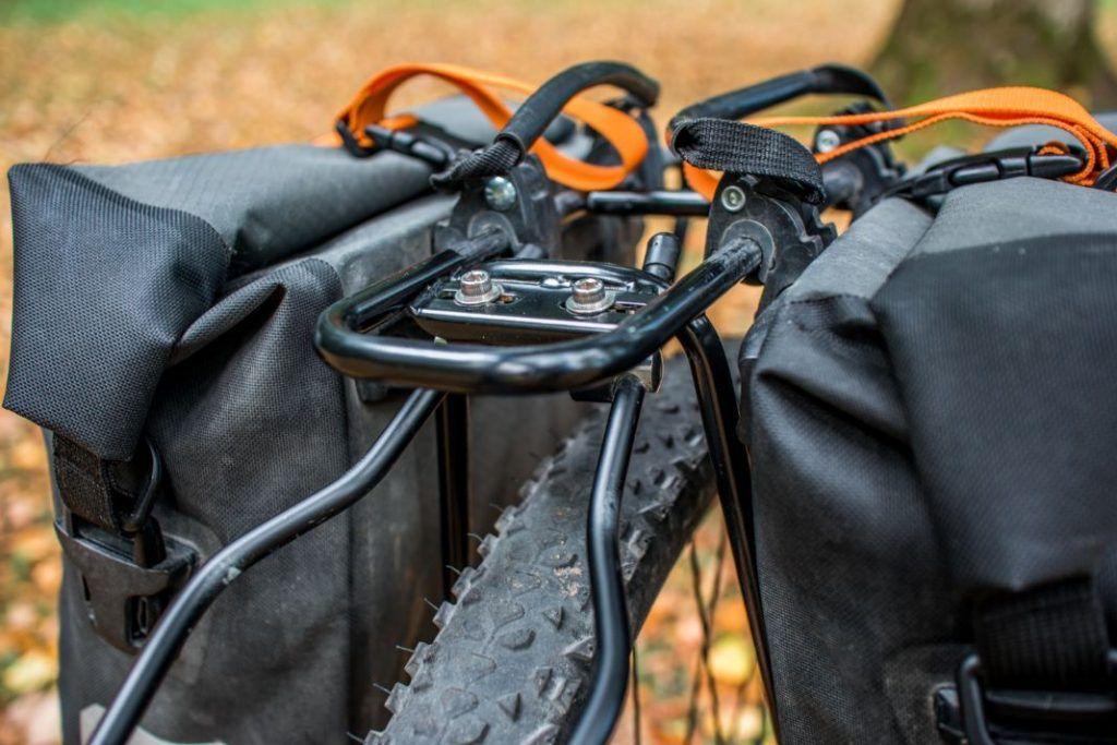 Ortlieb Gravel Pack Test kleine Fahrradtaschen vorne und hinten