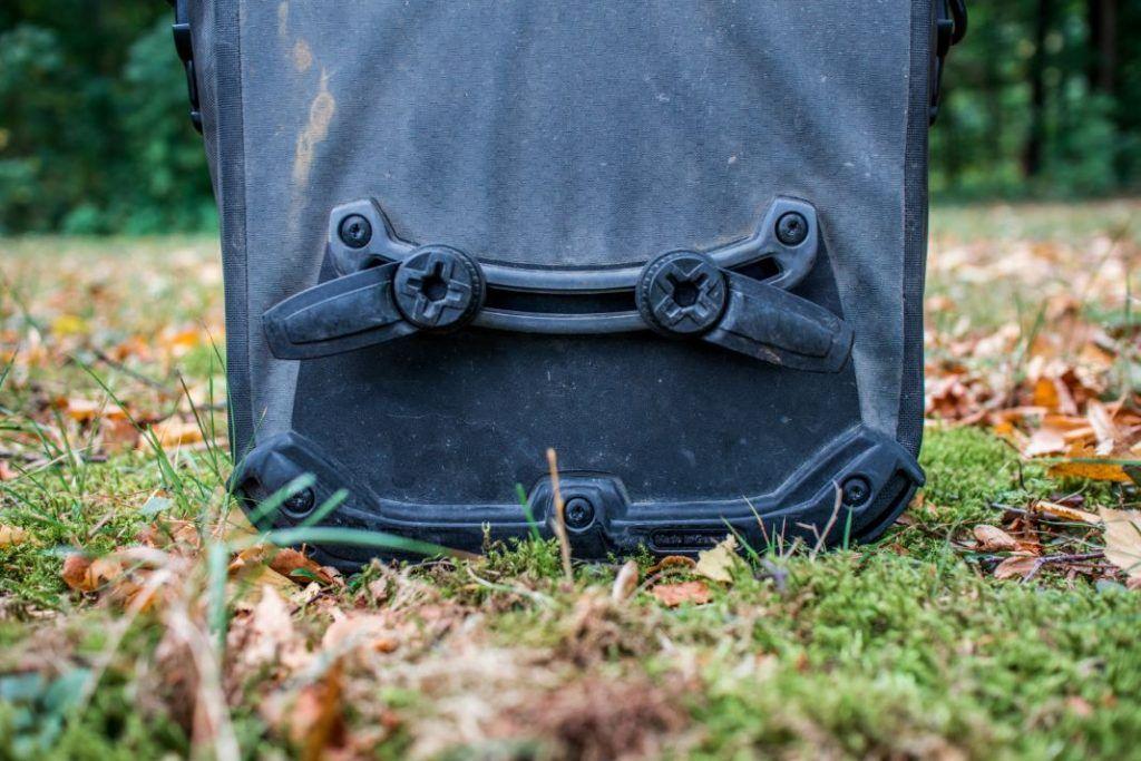 Ortlieb Gravel Pack Test kleine Lowrider Radtaschen vorne und hinten QL