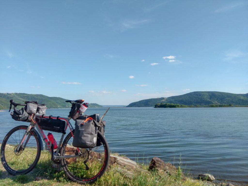 Ortlieb Gravel Pack Test und Erfahrungen mit kleinen Fahrradtaschen Rumänien