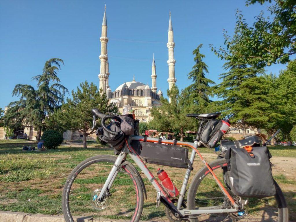 Ortlieb Gravel Pack Test und Erfahrungen mit kleinen Fahrradtaschen Türkei