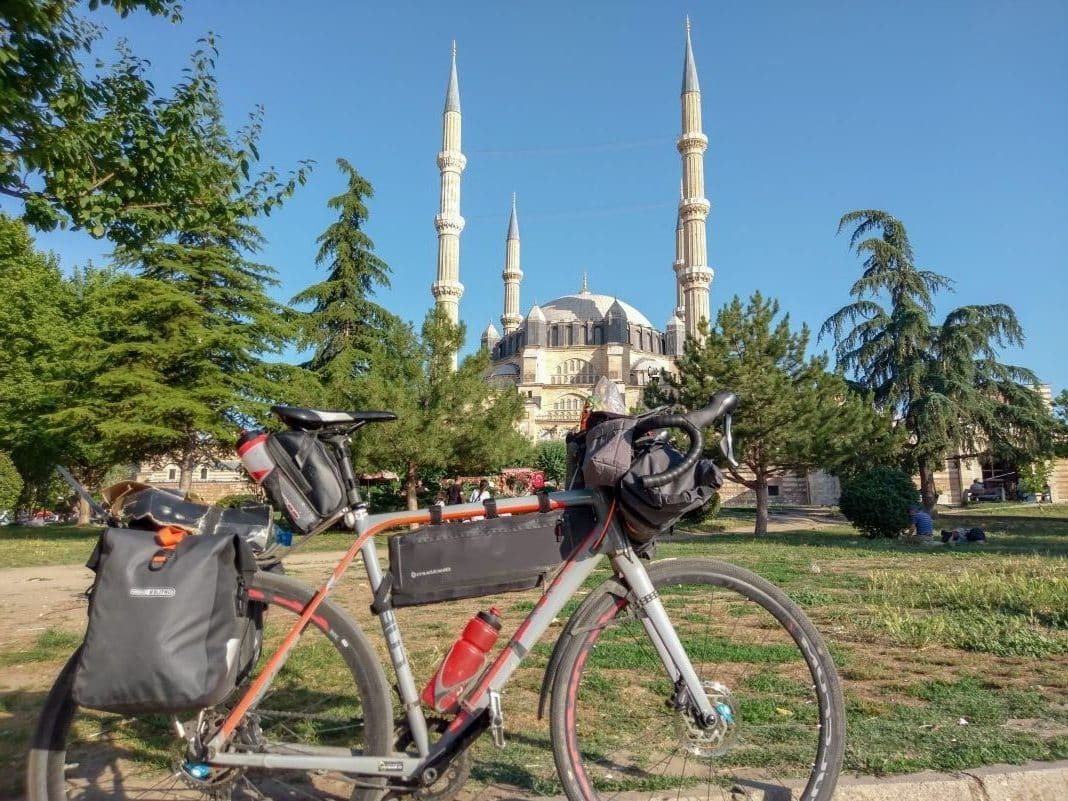 Ortlieb Gravel Pack test and experience with small bike bags Turkey