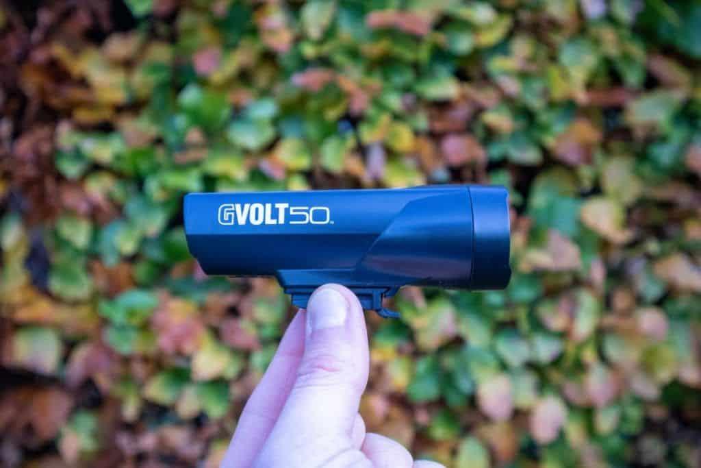 Cateye GVolt 50 Test Fahrradlampe Ansicht von rechts