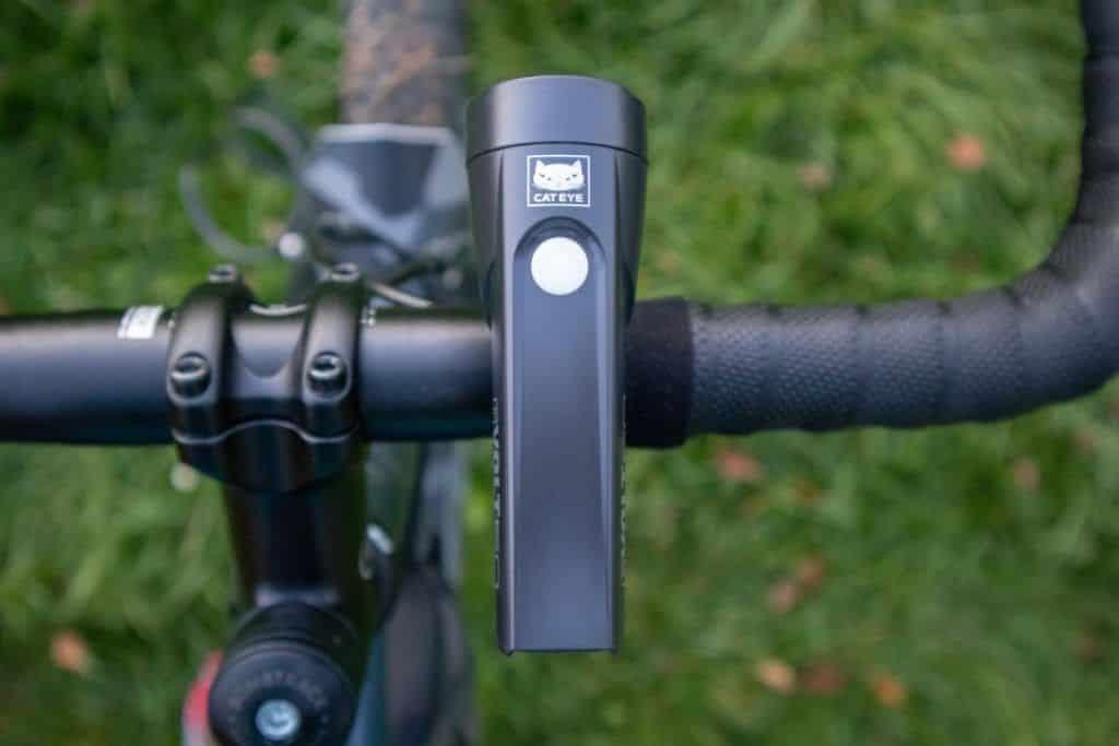 Cateye GVolt 50 Test LED Fahrradlicht am Lenker