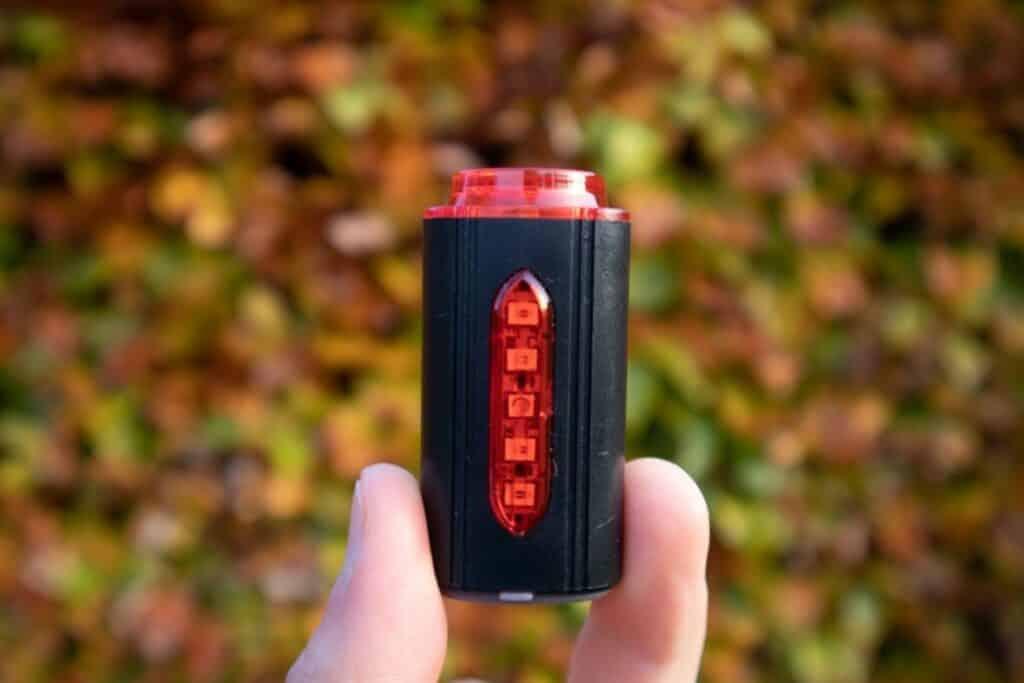 Fischer LED Beleuchtungsset Test Rücklicht ausgeschaltet