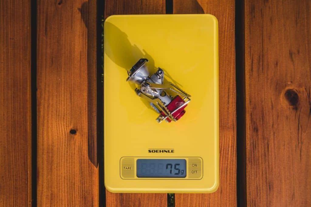 MSR Pocket Rocket 2 Gewicht des MSR Campingkocher