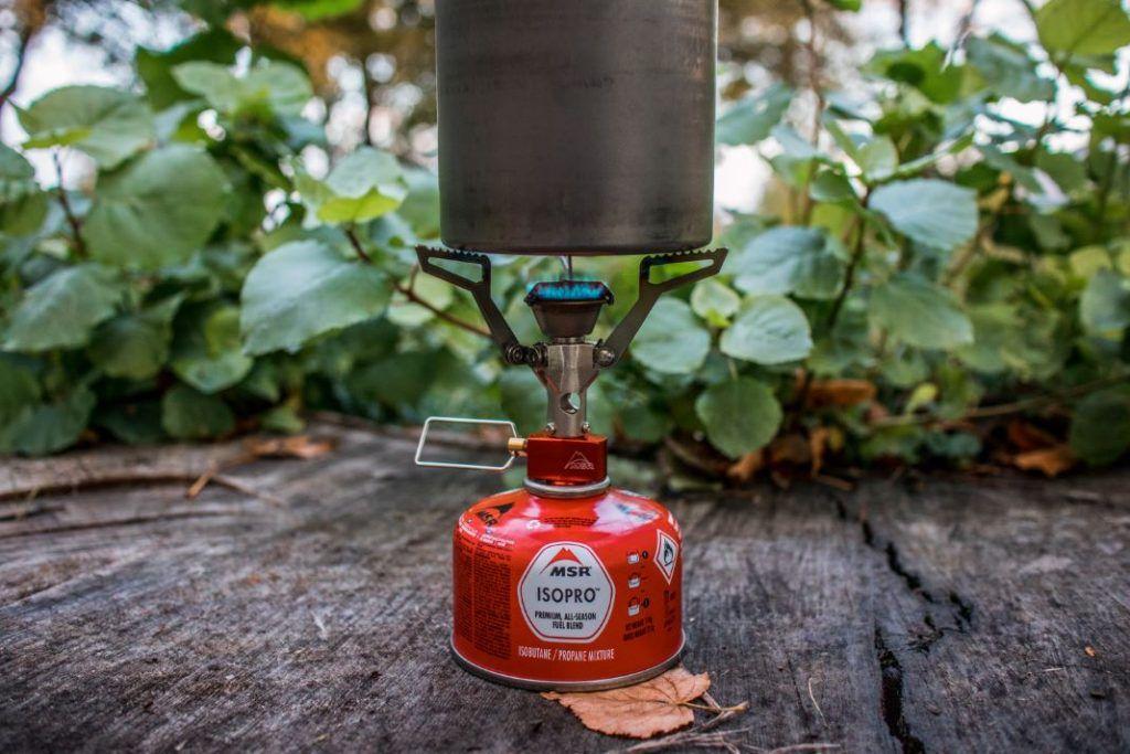 MSR Pocket Rocket 2 Verbrauch des MSR Campingkocher