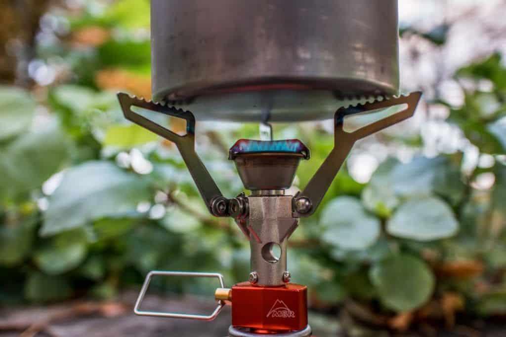 MSR Pocket Rocket 2 Verbrauch des Outdoor Gasbrenner