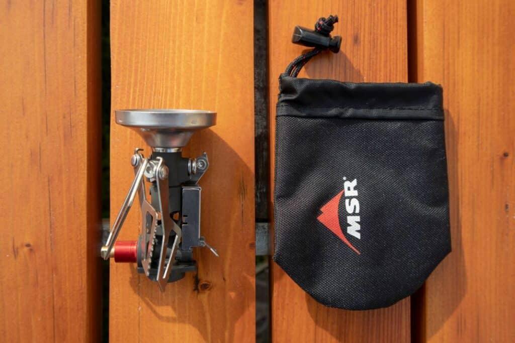 MSR Pocket Rocket Deluxe MSR Gaskocher mit Tasche