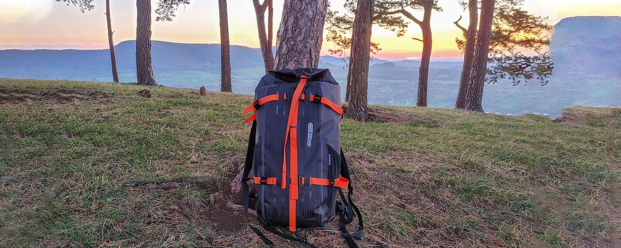 Ortlieb Atrack BP Test (Wasserdicht & Made in Germany) - Geht das Konzept des Bikepacking Rucksack auf?