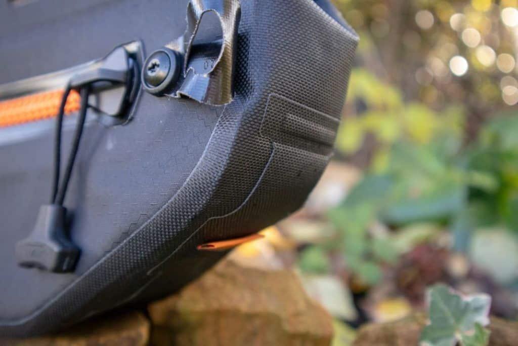 Ortlieb Frame Pack Befestigungsmöglichkeiten der Bikepacking Rahmentasche