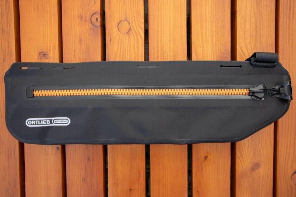Ortlieb Frame Pack Test Bikepacking frame bag