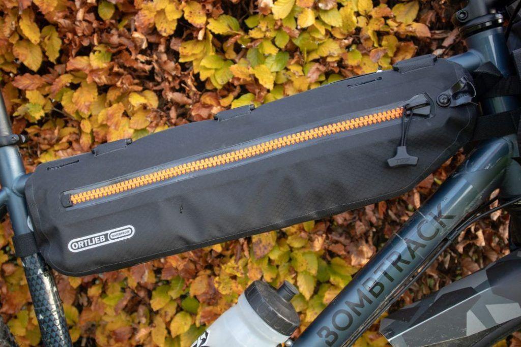 Ortlieb Frame Pack Test Erfahrungen Bikepacking Rahmentasche