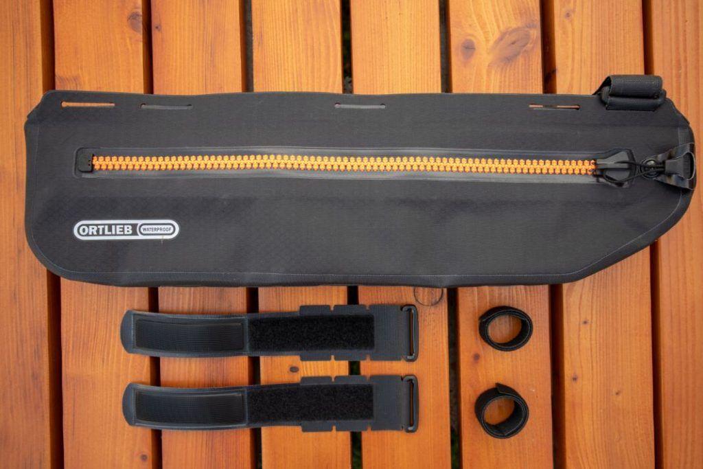 Ortlieb Frame Pack Test Scope of delivery Bikepacking frame bag